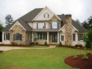 Exterior - traditional - exterior - atlanta - Whitmire Homes