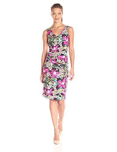 Nicole Miller Batiki Lycra Jersey Tuck Dress - http://www.womansindex.com/nicole-miller-batiki-lycra-jersey-tuck-dress/