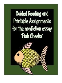 "Non Fiction Activities for ""Fish Cheeks"" by Amy Tan ..."