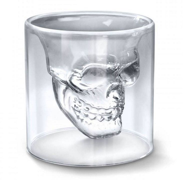 Get your unique skull shot glasses today! They have 2.5 ounce capacity and are guaranteed to make your the life of the party! Order your glass today and it arrives within 7 days!