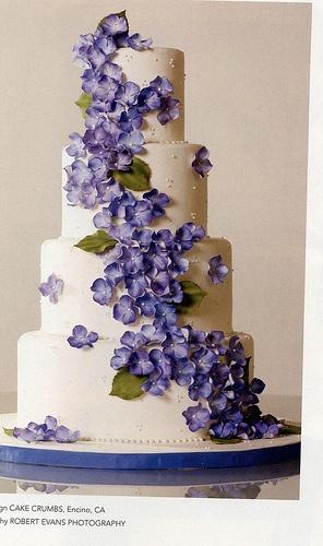 Hydrangea Cake BB S08 by ccliang80, via Flickr