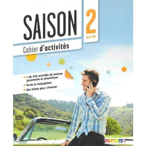 Saison 2, cahier d'activités, éditions Didier. Parmi les auteurs, Camille Dereeper, enseignante au CIDEF.