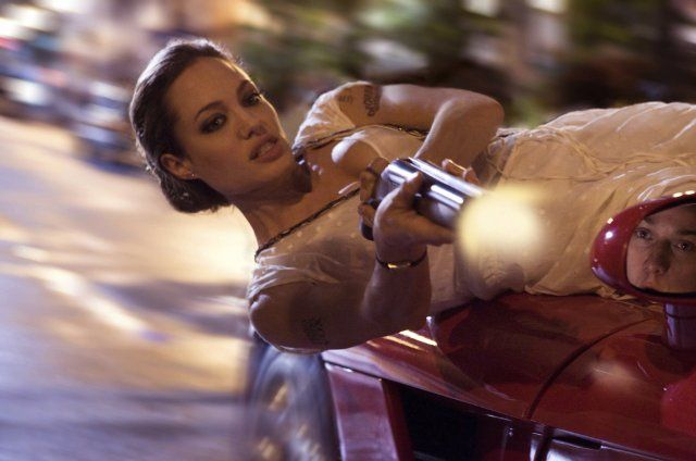 Angelina Jolie as Fox in Wanted