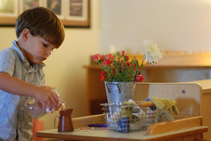 17 best images about actividades montessori on pinterest - Adornos florales para casa ...