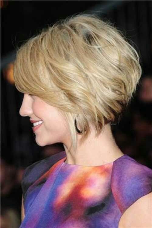 Layered Bob Haircut Side View Of Short Angled Wavy Hairstyle Hairstyles Weekly