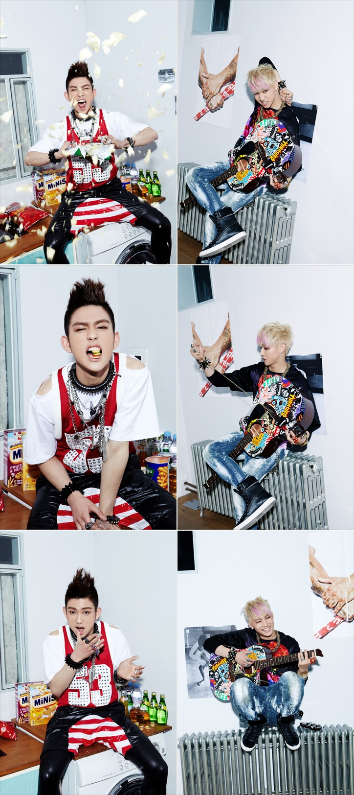 [IMAGE TEASER] Teaser photos of JB & Jr. ~ The first official debut photos of JJ Project! Officially from JYP Entertainment >> www.jype.com/ #JJProject #Bounce #JB #Jr .