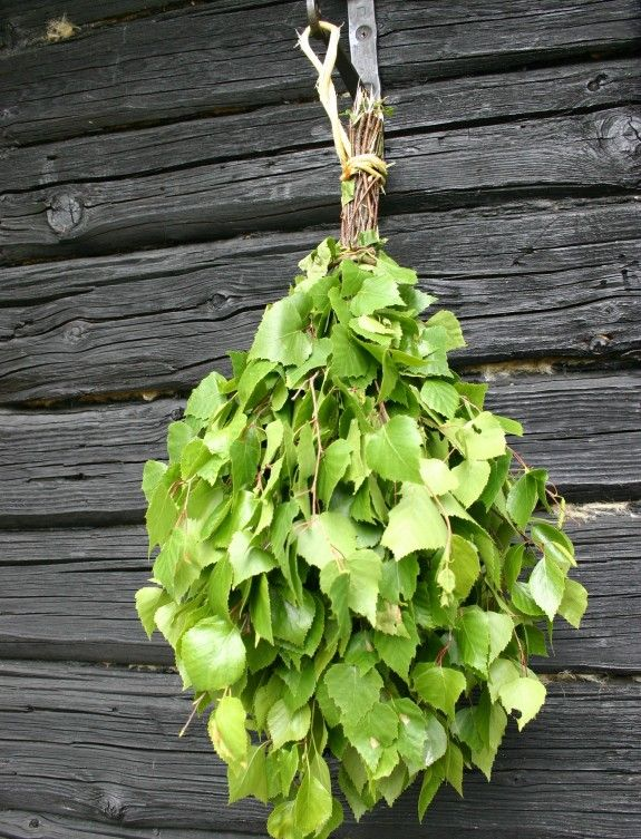 Sometimes people make a vasta (or vihta); they tie together small fresh birch branches (with leaves on) and swat themselves and their fellow sauna bathers with it. Vihtas can even be bought from a shop and stored into a freezer for later (winter) use. Using a vasta improves blood circulation, and its birch odour is considered pleasing.