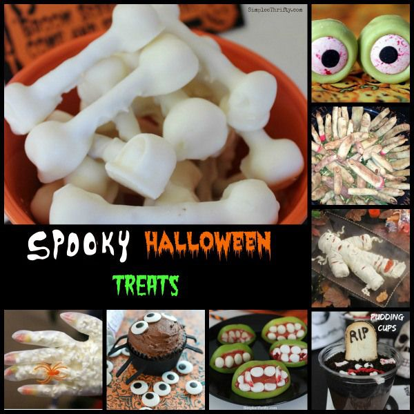 Spooky Food Ideas for Halloween: If your looking for some Spooky Food Ideas for Halloween we have an awesome roundup for you. These include some ideas that you may want to have at your Adult Halloween Party and there are even some kid friendly ones included too.