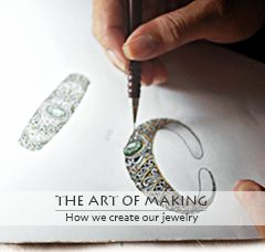 Deni Jewellery not only presents you beauty but also an artwork with unique story behind every precious piece.