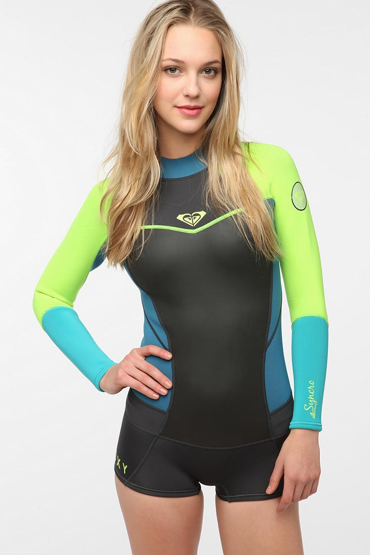 Love this wetsuit.  Roxy Long-Sleeved Wetsuit Romper