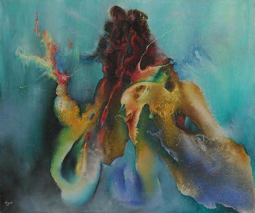 History of Art: Enrico Donati - Untitled