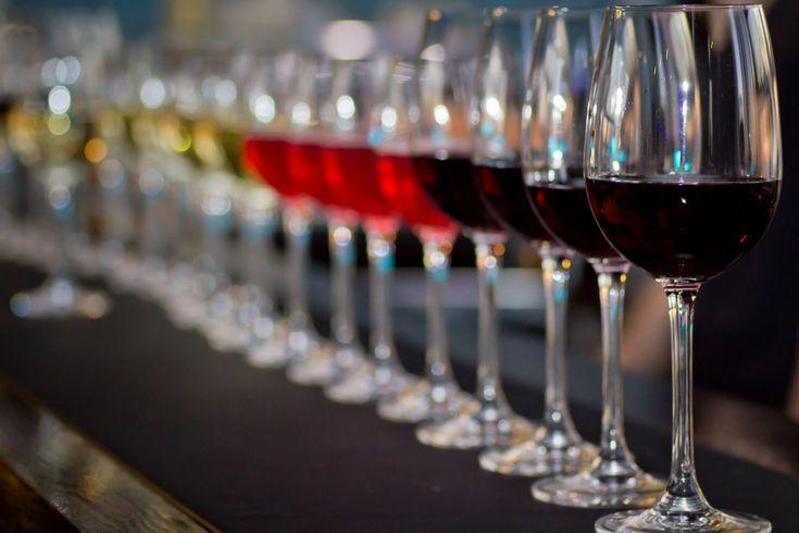 Qual é a taça de vinho que devo usar?