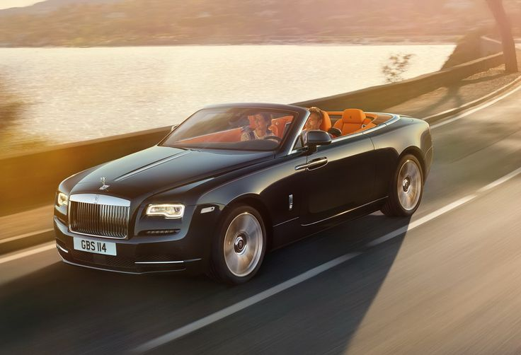 The Rolls-Royce Dawn is the world's most luxurious convertible