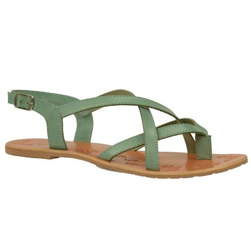 Groene sandalen // sandalen // SACHA