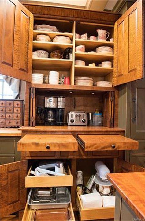 651 Best Colonial Kitchens Images On Pinterest Primitive