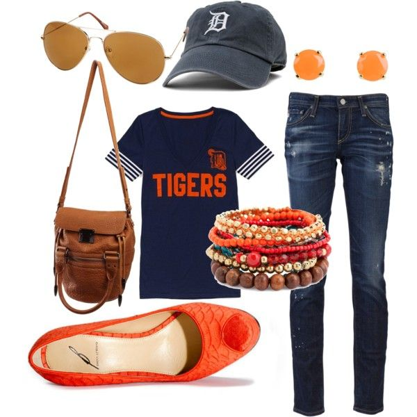 My opening day outfit!Detroit Tigers Outfit, Tigers Baseball, Day Outfit, Baseball Games Dates Outfit, The Games, Baseball Seasons, Basebal Seasons, Tigers Games, Detroit Tigers Clothing