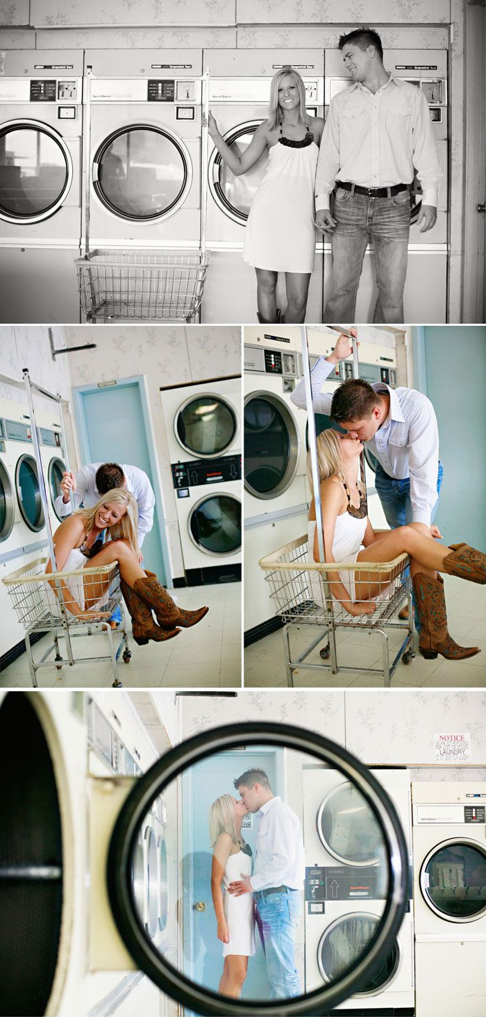 Totally creative idea for a place to do a shoot. LOVE IT.