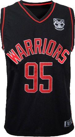2014 Vodafone Warriors Courtside Singlet #WarriorsGear #WarriorsForever #NRL #Singlet #Retro Go to www.warriorsstore.co.nz