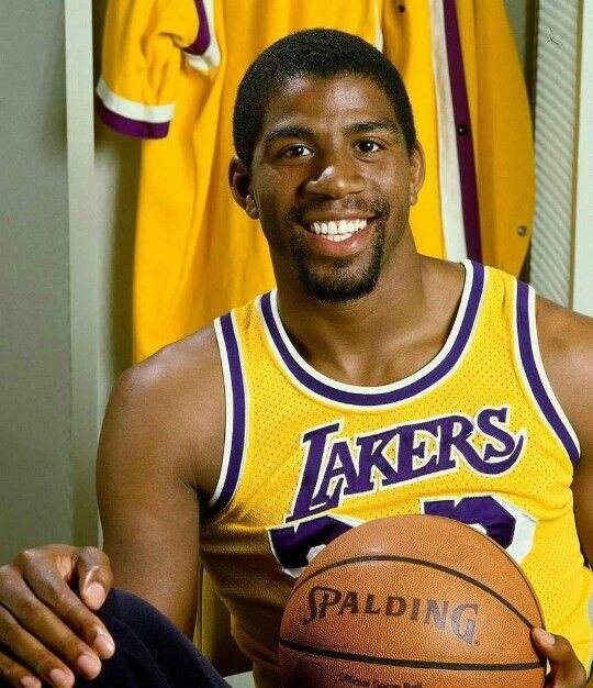 """Earvin """"Magic"""" Johnson, Jr. is a retired American professional basketball player who played point guard for the Los Angeles Lakers of the National Basketball Association (NBA) for 13 seasons. After winning championships in high school and college, Johnson was selected first overall in the 1979 NBA Draft by the Lakers. He won a championship and an NBA Finals Most Valuable Player Award in his rookie season, and won four more championships with the Lakers during the 1980s. Johnson retired…"""