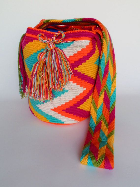 """ORIGINAL"" WAYUU BAGS By ArtiSanStyLeHanDs @Etsy.com US$89.00 Ship ""WorldWide"""