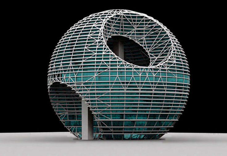 концепции дизайна выставочного и конференц-центра в Рас-Аль-Хайма, в северной части ОАЭ.