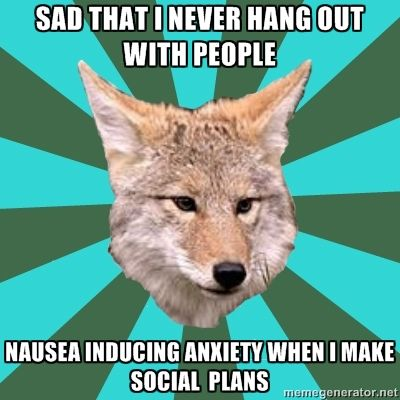 The Avoidant Personality Disorder Coyote