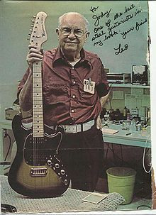 Leo Fender : The inventor of the Telecaster and the Stratocaster...