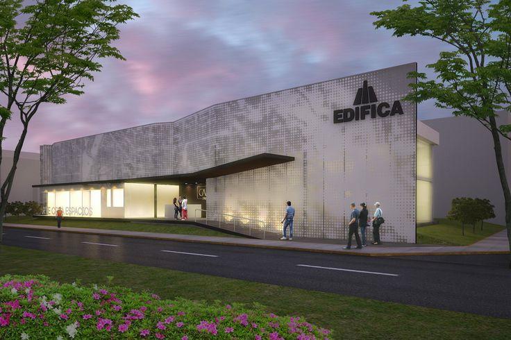 Propuesta de sala de ventas CANVAS - Miraflores // Diseño: S-XL Arquitectos