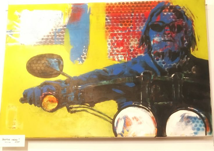 Motor Head by Andrzej Franaszek #contemporaryart #popart