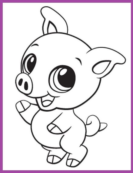 Animales Animados Para Colorear | Imagenes De Amigos Por Siempre ...