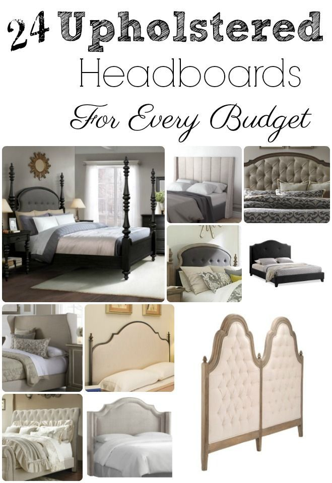 24 beautiful Upholstered Headboards For Every Budget | DIY ...