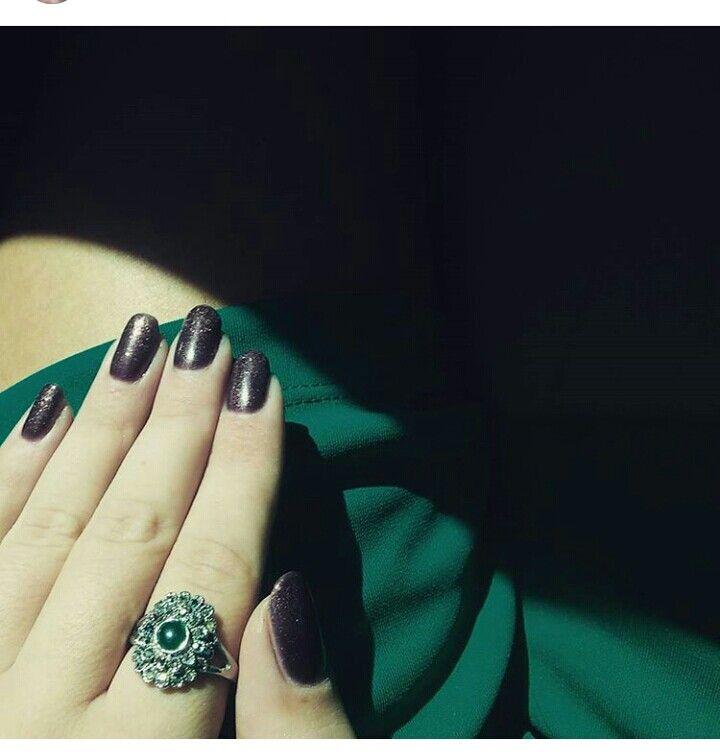 Effect nails art.