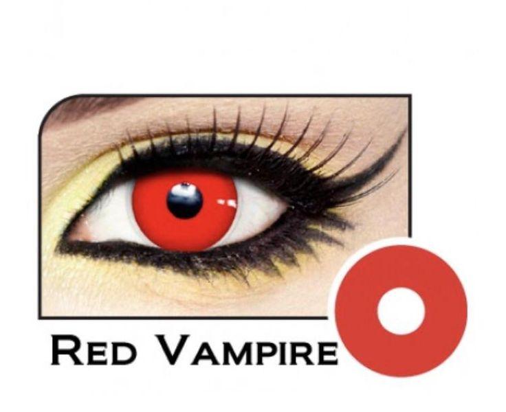 Vampire red contact lenses *Halloween