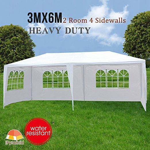 Wedding With White Tent: Makeonsale 3M*6M Gazebo Marquee Wedding Tent Outdoor