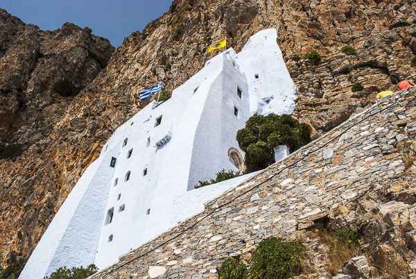 Monastery in the rocks- Hozoviotissa Monastery