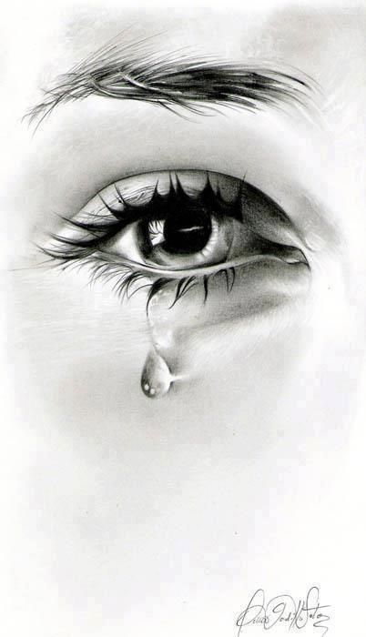 I cry very easily. It can be a movie, a phone conversation,a sunset--tears are words waiting to be written.: Omar Gordillo, Teardrop, Art Sketch, Cry Eye, Amazing Sketch, Art Drawings, Pencil Drawings, Drawings Eye, Tear Drop