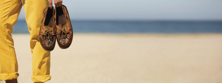 Looking forward to stepping out on that beach, boat shoes in hand #sperrytopsider