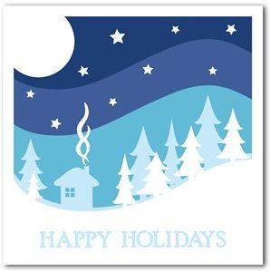 happy holidays by Elizabeth Mayne