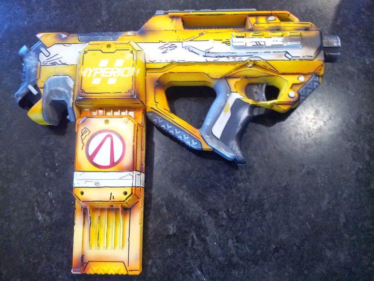 Hyperion Smg Custom Nerf Guns Guns Nerf Car