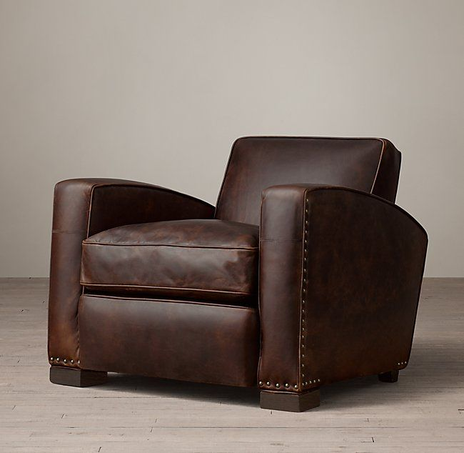Library Leather Chair Leather Chair Chair European Home Decor