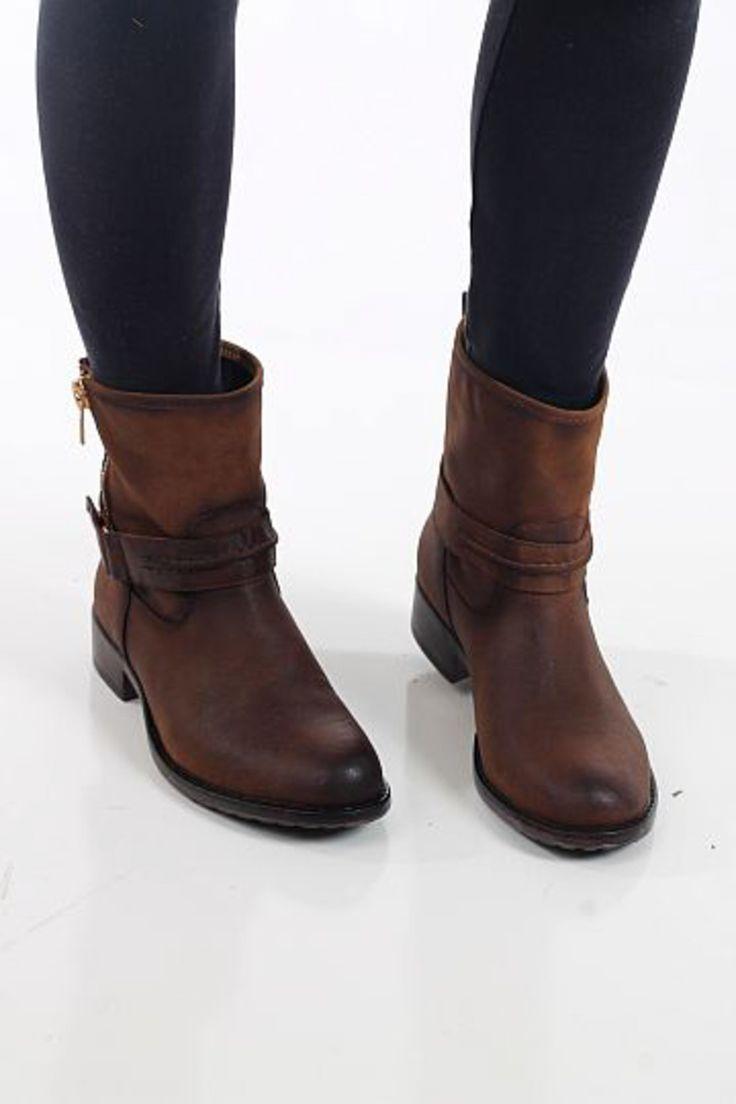 The Kerri Boot, Tan - The Mint Julep Boutique