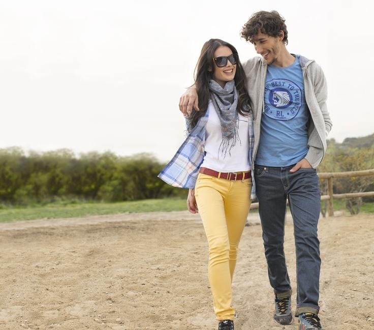 Jeans Robert Lewis, él y ella