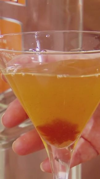 Make your own pumpkin pie spice simple syrup for a holiday martini.