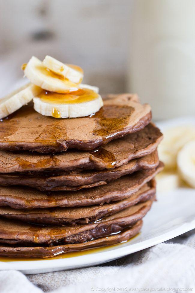 placki bananowo-kakaowe