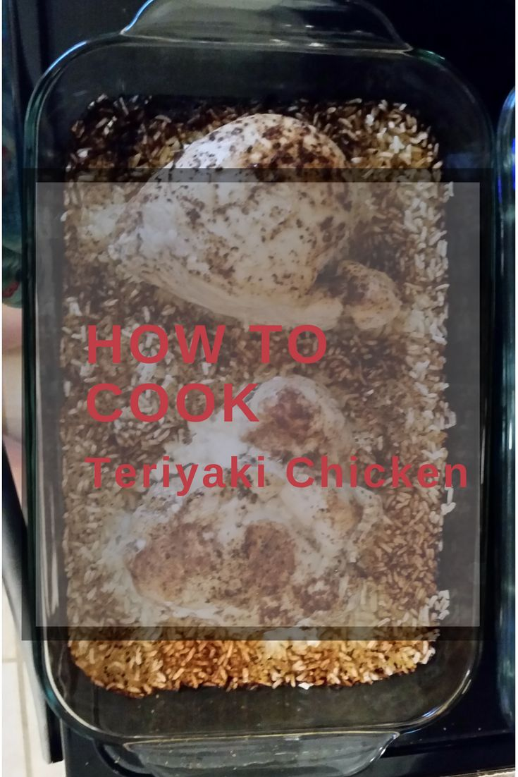 If you want a cheap, easy, and healthy meal, it does not get better than baked chicken and rice. With the veggie side I made, you have a balanced meal. Teriyaki baked chicken