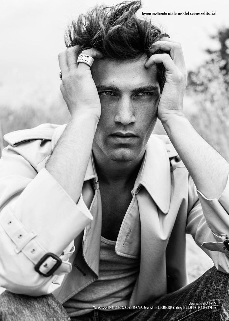 Fabio Mancini by  Byron Mollinedo for Male Model Scene