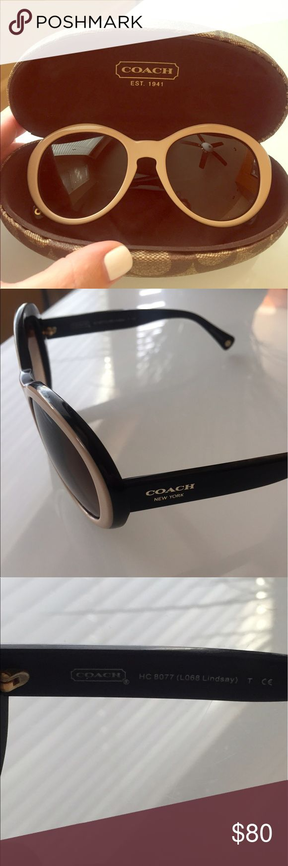 Coach sunnies! 😎 Authentic Coach sunnies purchased at the Coach store in San Diego. Excellent condition! Coach Accessories Sunglasses