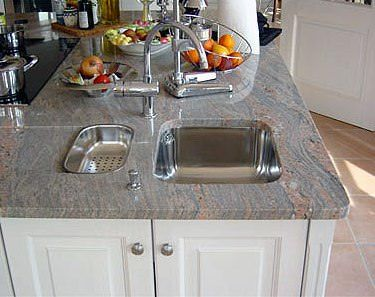 Küche granit  Die besten 25+ Granit arbeitsplatte Ideen auf Pinterest ...