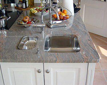 best 25+ arbeitsplatte küche granit ideas on pinterest | granit ... - Küche Granit