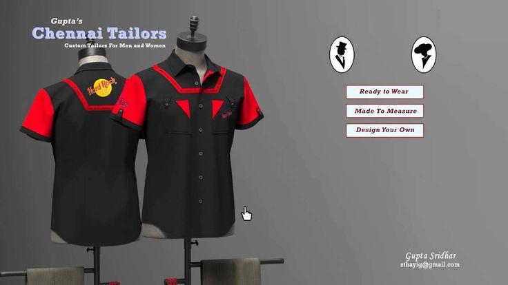 3D Shirt Configurator
